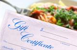 Cape Cod Restaurant Gift Certificate
